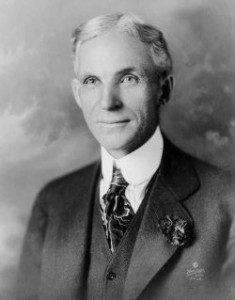 Henry Ford - Creador de la marca de coches Ford