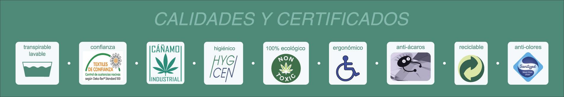 calidades y certificados cannarelax